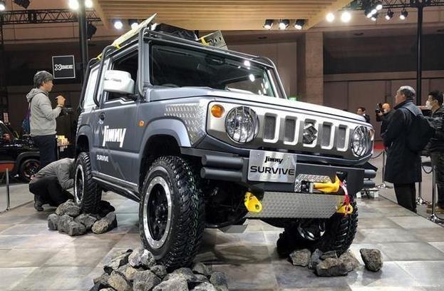 Suzuki Jim Ni Pickup, unveiled at 2019 Tokyo modified car exhibition