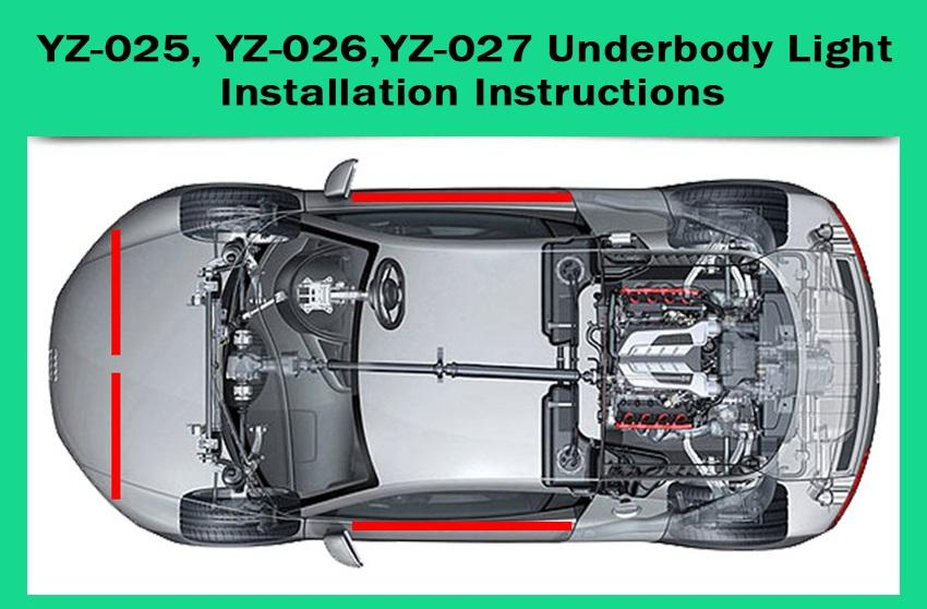 How To Install LED Underbody Lighting Kit?