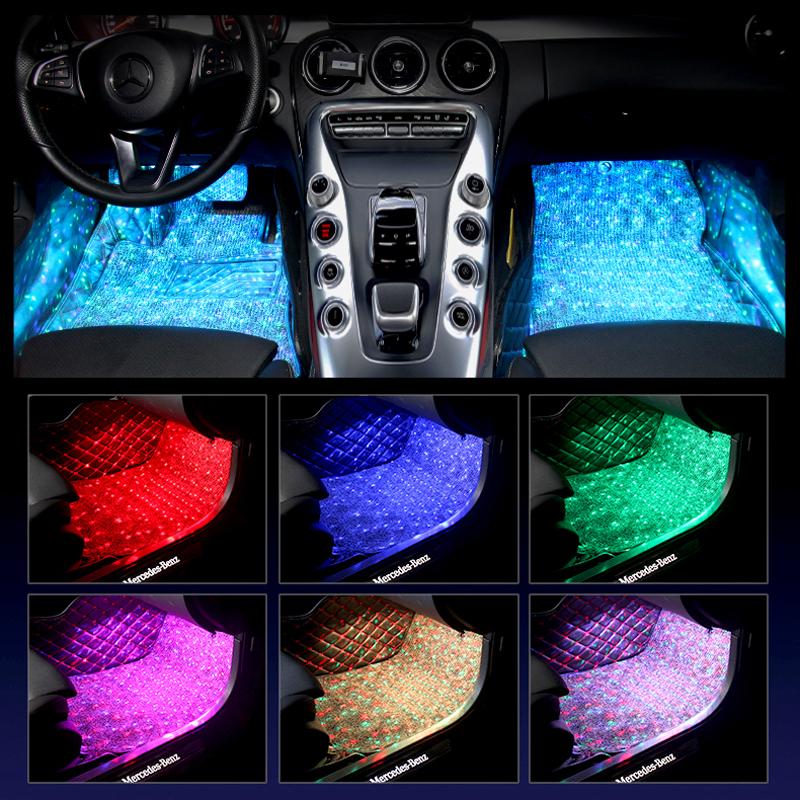 Car Interior Starlight Atmosphere Light