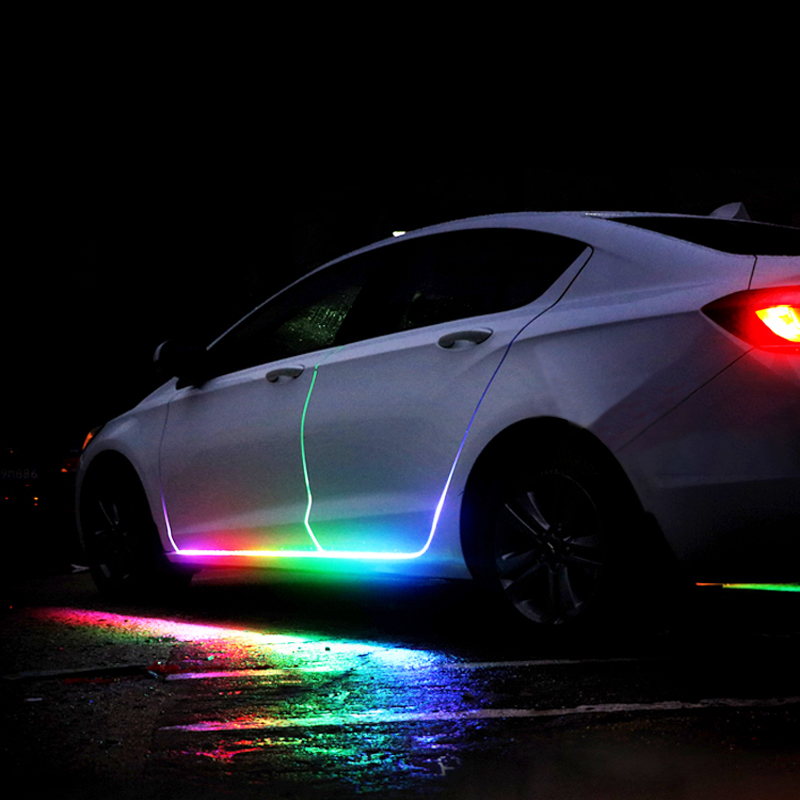 car door sill light strip