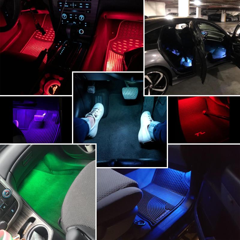 car interior light strip