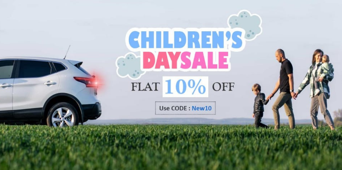 It's Time to grab your favorite accessories on this Children's Day Sale!
