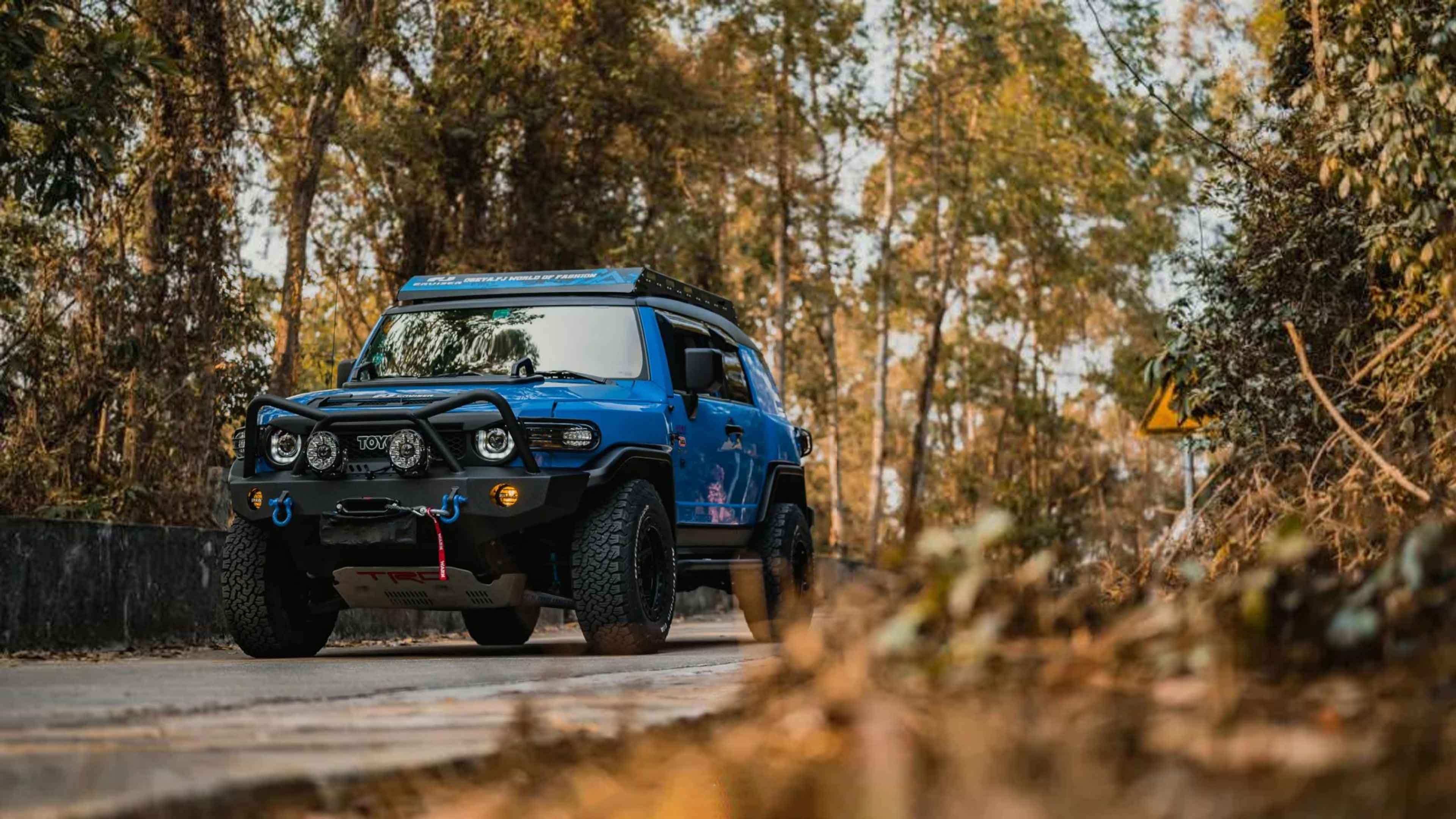 Play off-road-Toyota FJ Cool Road Ze shows the true qualities of a macho