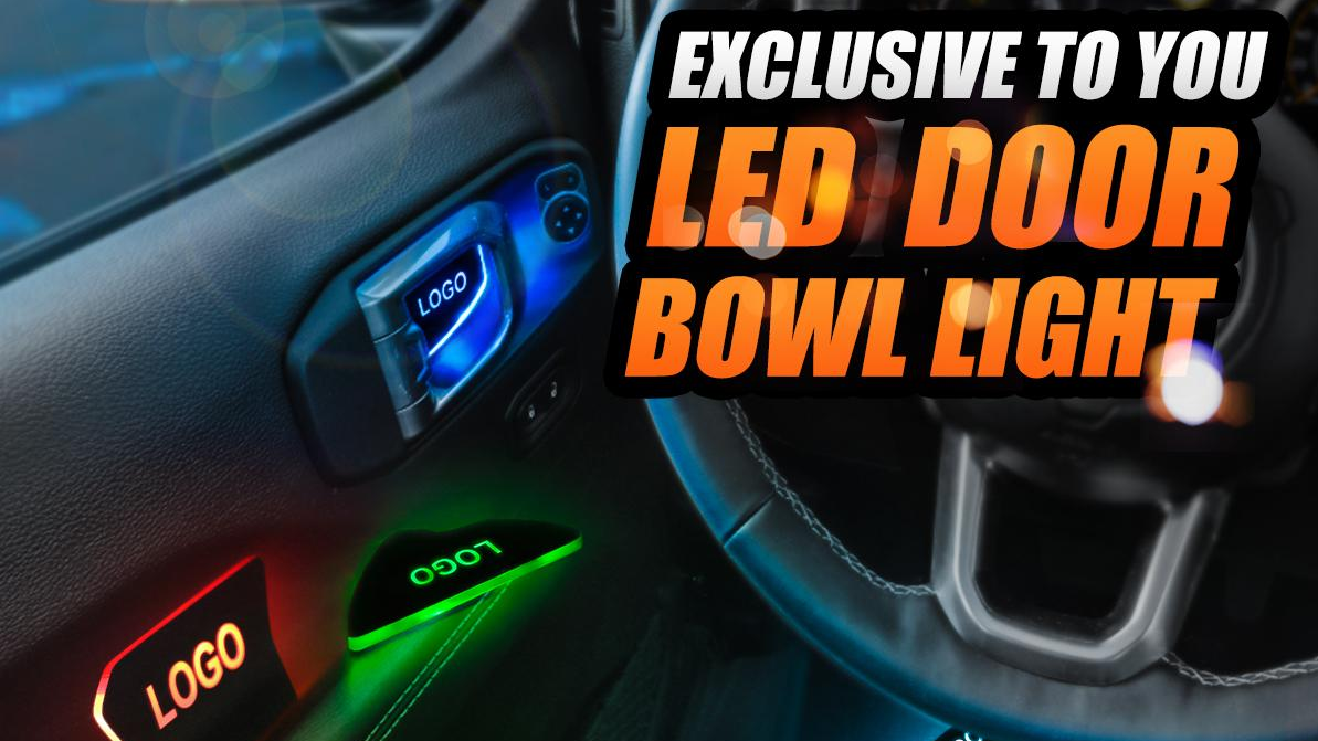 Dopest LED Car Door Handle Bowl Upgrade