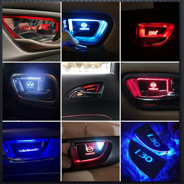 led door handle bowl light customer feedback pics