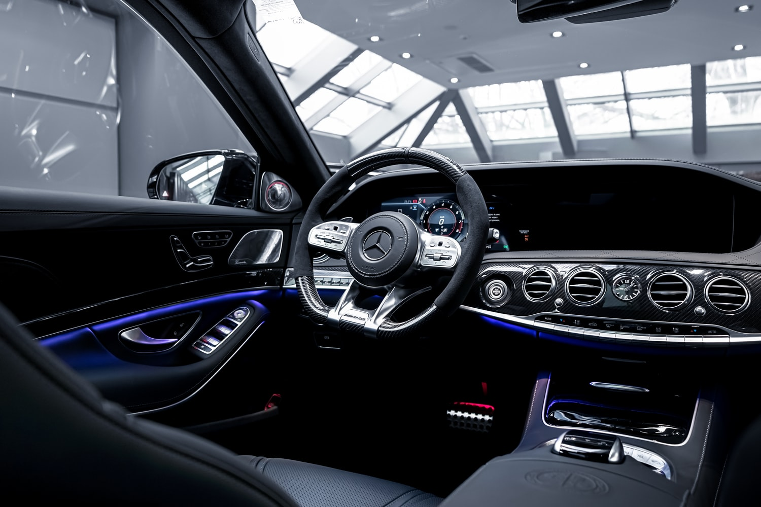 A luxurious interior lighting makeover of your vehicle