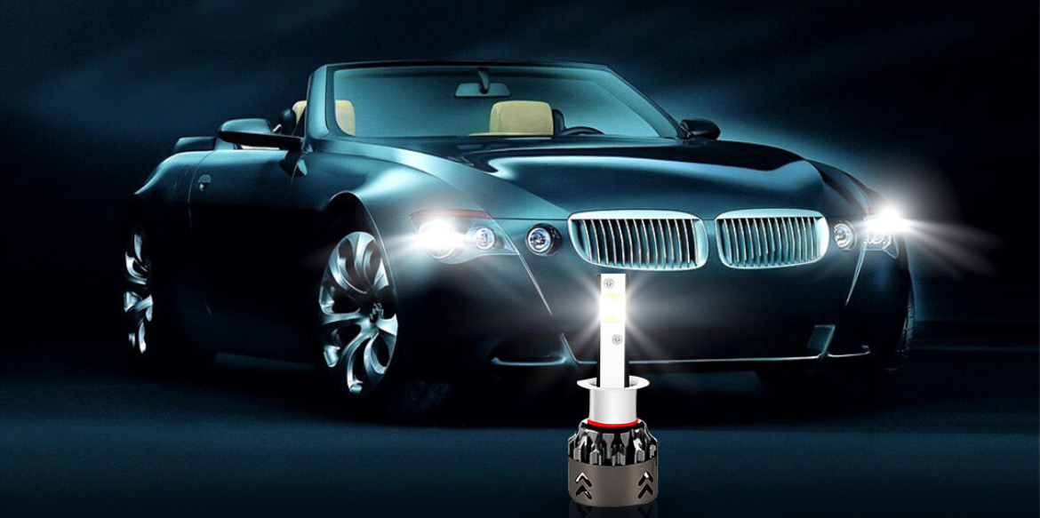 LED Headlight bulb-How to Get Maximum Vision When Driving at Night