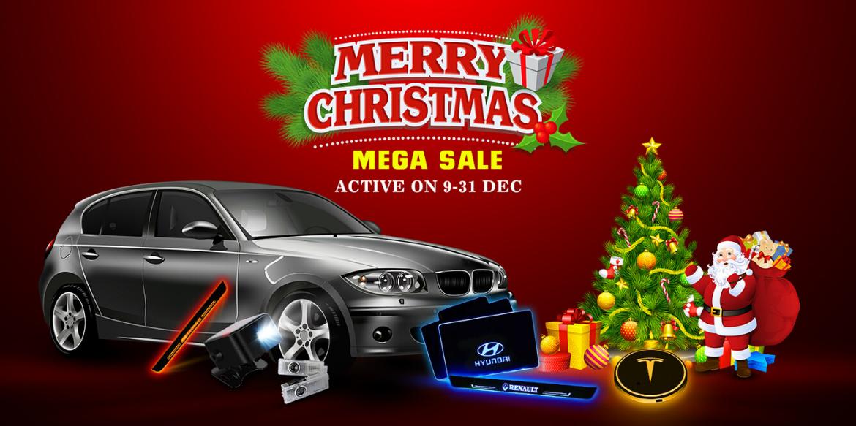 HO-HO-HO! Christmas Mega Sale is on and Save up to 30% On Car Accessories