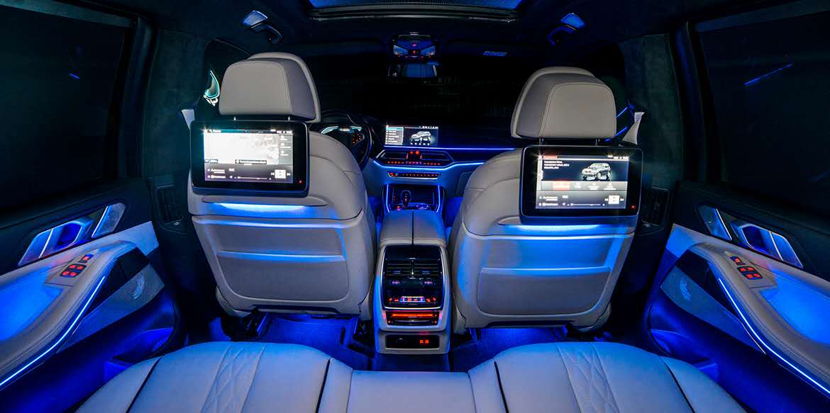 LED Accent lights: A more enjoyable ride with music
