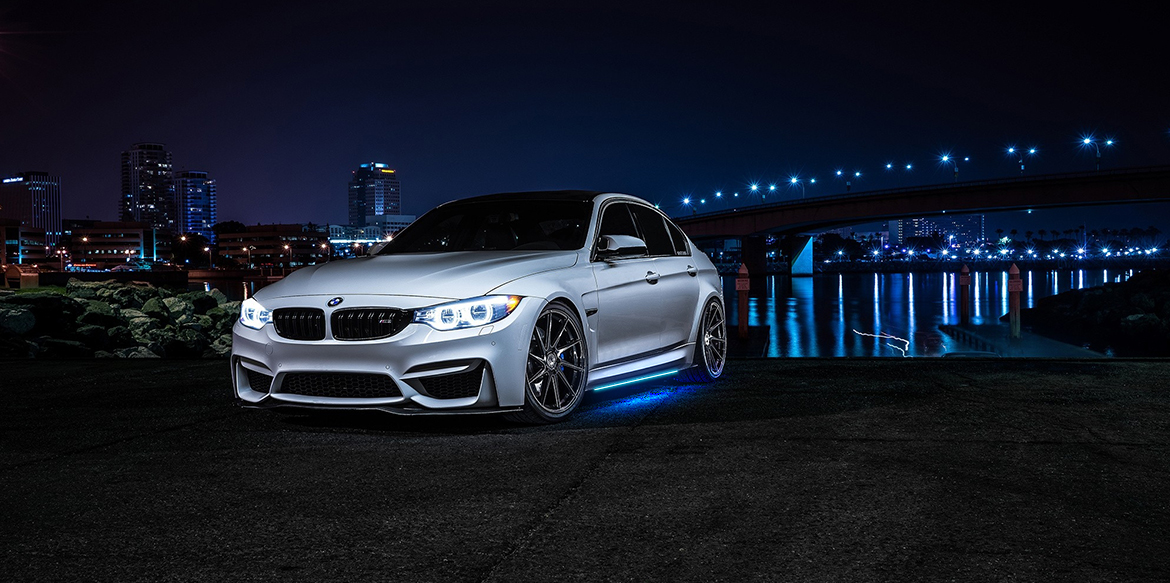 Install LED Underbody lights mega-powerful impact and a modernized look